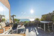 Proche Cannes - Golfe Juan - 4P rénové avec vue mer panoramique - photo3