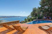 Proche Cannes - Vue mer panoramique dans domaine privé - photo9