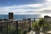 Close to Monaco - Panoramic view of Monaco and the Mediterranean - photo1