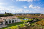 Near Lourmarin: superb renovated farmhouse in the middle of the vineyards - photo1