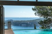 Villefranche-sur-Mer - Contemporary villa with spectacular sea view - photo9