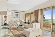 Cannes Palm Beach: Vue mer à couper le souffle - Charmant appartement d'angle 3-pièces dans résidence sécurisée avec gardien et piscine - photo3