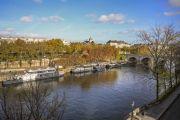 Paris 4ème - Ile Saint Louis - Dernier étage Vue Imprenable - photo8