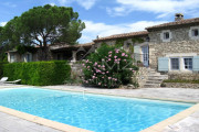 Proche Gordes - Charmante maison de vacances en pierres - photo1
