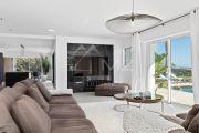 Proche Cannes - Golfe Juan - Villa contemporaine vue mer panoramique - photo6