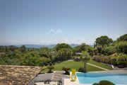 Proche St Tropez- Belle villa contemporaine vue mer - photo11