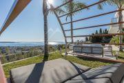 Proche Cannes - Golfe Juan - Villa contemporaine vue mer panoramique - photo3