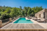Grimaud - Beautiful renovated stone mas and guest annexe with waterfall - photo4
