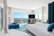 Proche Cannes - Golfe Juan - Villa contemporaine vue mer panoramique - photo9