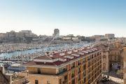 Marseille 2ème - Vue Vieux port - Dernier étage terrasse Immeuble POUILLON - photo12