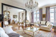 Paris 17ème - Bel appartement haussmanien 156M2 avec parking - photo1