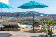 Proche Cannes - Villa contemporaine vue mer - photo13