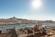 Marseille 2ème - Vue Vieux port - Dernier étage terrasse Immeuble POUILLON - photo5