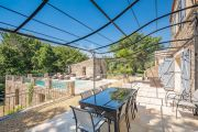 Grimaud - Beautiful renovated stone mas and guest annexe with waterfall - photo5