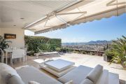 Near Cannes - On the heights - Appartment with panoramic sea view - photo1