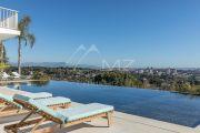 Proche Cannes - Golfe Juan - Villa contemporaine vue mer panoramique - photo4