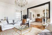Paris 17ème - Bel appartement haussmanien 156M2 avec parking - photo6