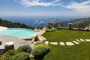 EZE - Provençal villa with panoramic sea view - photo18