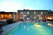 Gordes - Beautiful stone house with tennis court and heated pool - photo10