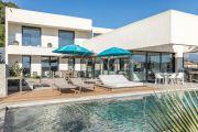 Proche Cannes - Villa contemporaine vue mer - photo4