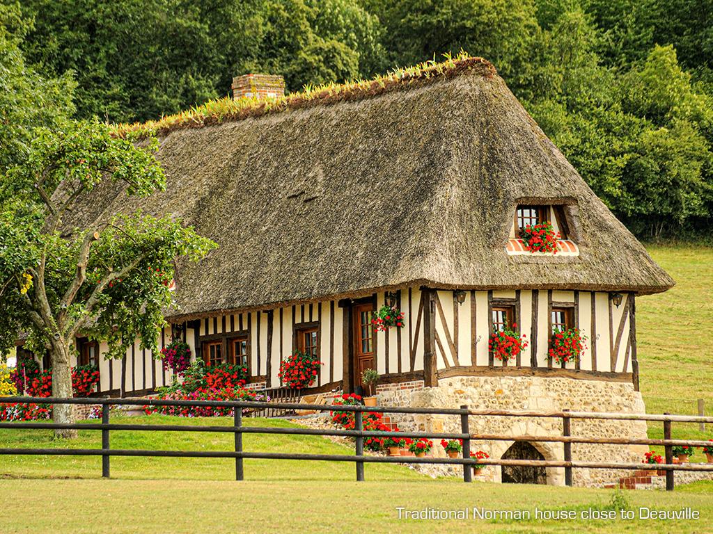 Deauville : zoom sur la maison normande