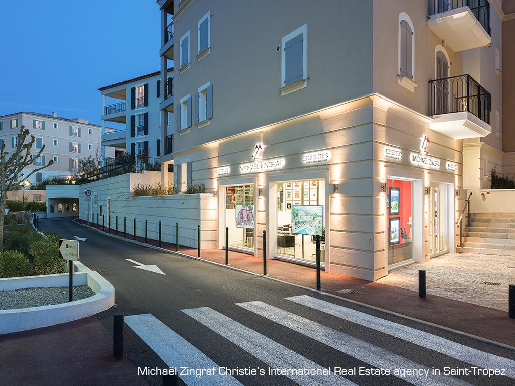 Présentation de l'agence Michaël Zingraf Christie's International Real Estate Saint-Tropez