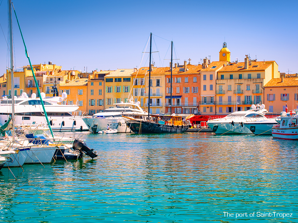 The most beautiful marinas along the French Riviera