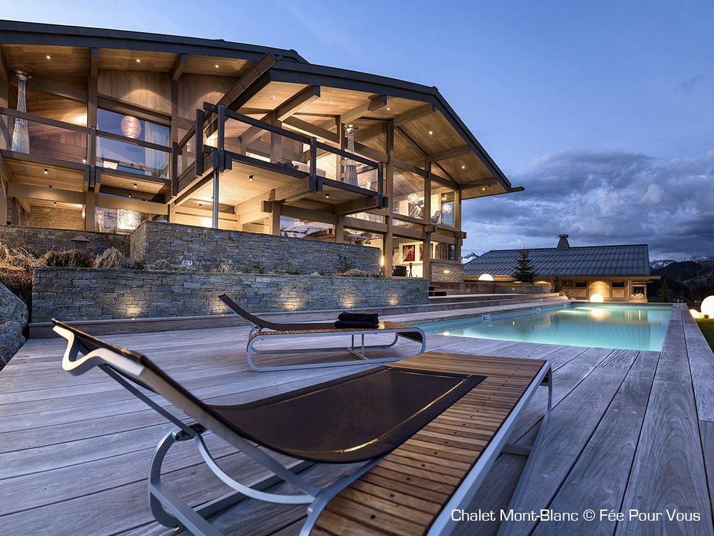 Selection of the most beautiful luxury mountain chalets