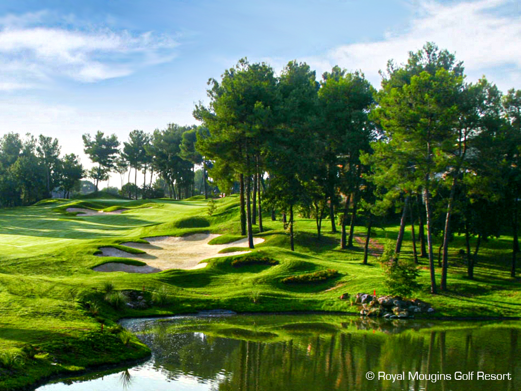 Selection of the most beautiful golf courses along the French Riviera