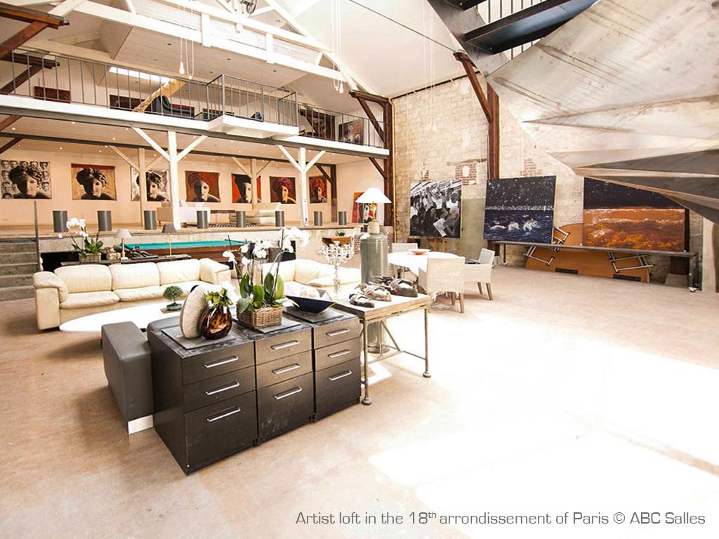 Comment rénover un atelier d'artiste à Paris ?