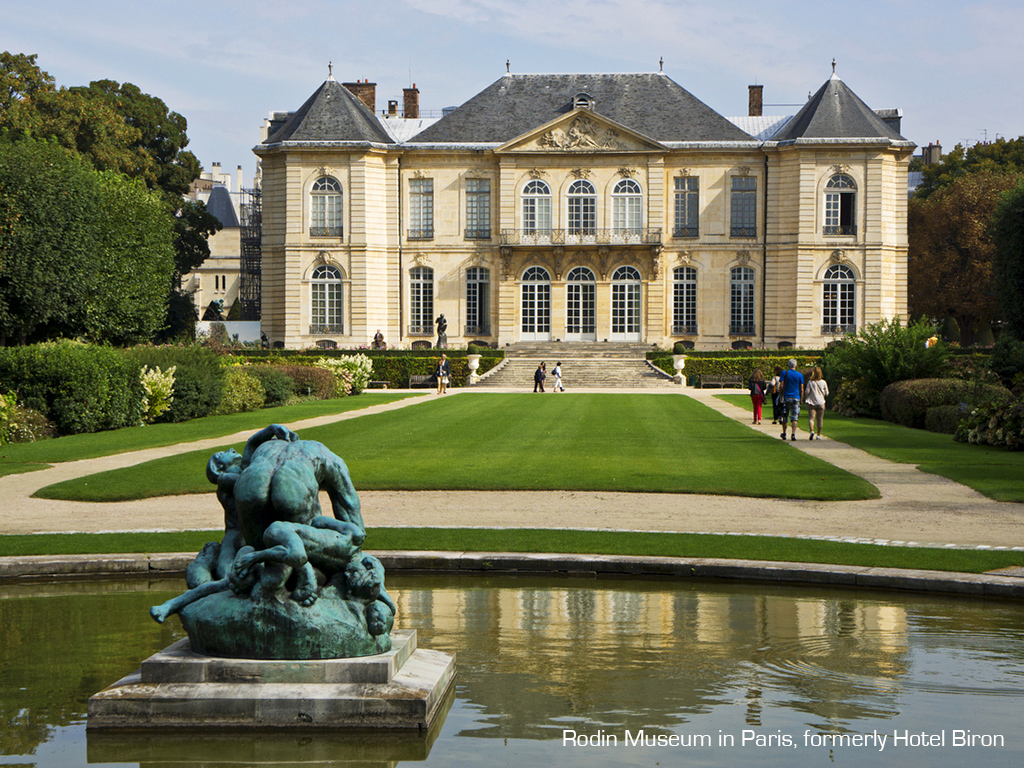 election of the most beautiful private mansions in Paris